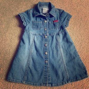 Guess baby denim dress